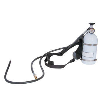 Honeywell Pressure Demand Supplied Air Respirator w/ Nylon Harness, 10 Minute Hip-Pac (1 EA/EA)