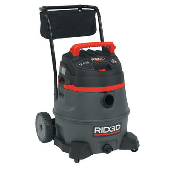 Ridgid Tool Company 2-Stage Wet/Dry Vacuums, 14 gal, 6.5 hp, W/Hose/(6) Attachments/Diffuser/Filter (1 EA/EA)