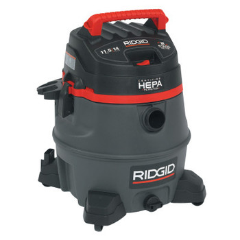 Ridgid Tool Company 2-Stage Wet/Dry Vacuums, 14 gal, 6.5 hp, W/Hose/(7)Attachmts/Diffuser/(3)Filter (1 EA/EA)