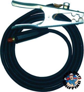 Best Welds Ground Cables, For All Machines w/Dinse Connectors, 15 ft, Coated Cable, (1 EA/KIT)