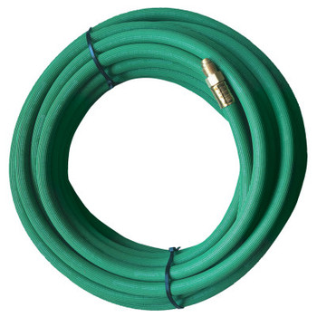 "Best Welds Grade R Green Single Line Welding Hose Kit w/Inert Gas Fitting (IGF), 3/8"", 50ft (1 EA/EA)"