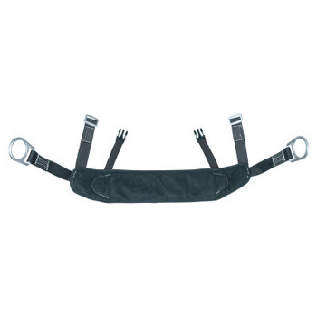 Honeywell Bos'n Chairs, 400 lb, Black, Steel D-Ring (1 EA/EA)