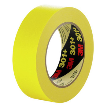 3M 301+ Performance Masking Tapes, 2.83 in x 60.14 yd, Yellow (12 CA/EA)