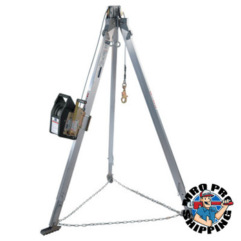 Capital Safety Advanced Aluminum Tripods with Salalift II Winch, Rescue Harness Systems, 120 Ft (1 EA/PK)
