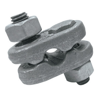 CM Columbus McKinnon Mid-Grip Wire Rope Clips, 5/8 in, Galvanized (1 EA/EA)