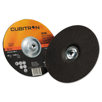 3M Cubitron II Cut & Grind Wheel, 7 in Dia, 1/8 in Thick, 5/8 in-11 Arbor (10 BX/EA)