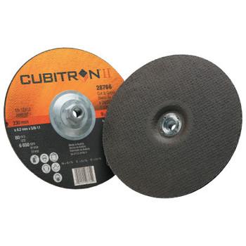 3M Cubitron II Cut & Grind Wheel, 9 in Dia (10 BX/ST)