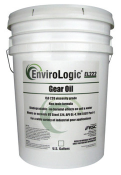 Radiator Specialty Envirologic Hydraulic Gear Oils, 235 C Flash Pt, 5 gal, Bucket (4 EA/EA)