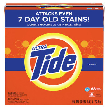 Procter & Gamble Tide Laundry Detergents, 95 oz Box (3 CA/BD)