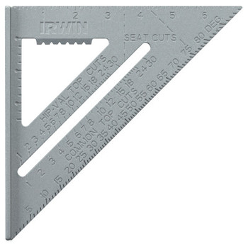 Stanley Products Aluminum Rafter Squares, 7 in Beam, Aluminum (1 EA/BOX)