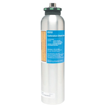 MSA Calibration Gas Cylinder, Oxygen in Nitrogen, 20.8% (1 EA/BOX)