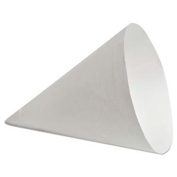Konie Cups Paper Cone Cups, 7 oz, White (5000 CA/BOX)
