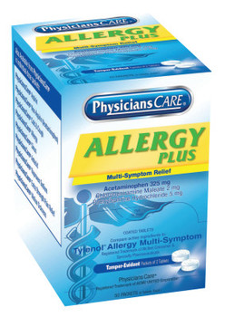 First Aid Only PhysiciansCare Allergy Medications (1 BX/BOX)