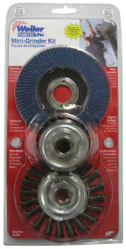 Weiler VP MINI-GRINDER KIT (5 PK/BOX)
