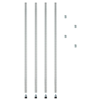 "Alera POST-36""-SR-4/PK (1 PK/BOX)"