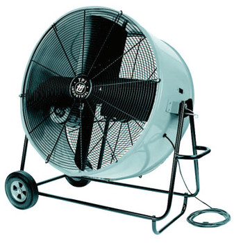 TPI Corp. Industrial Belt Drive Portable Blowers, 4 Blades, 36 in, 500 rpm (1 EA/BOX)