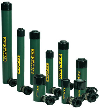Simplex Spring Return Cylinders, 25 tons, 6 1/4 in Stroke Length (1 EA/BOX)