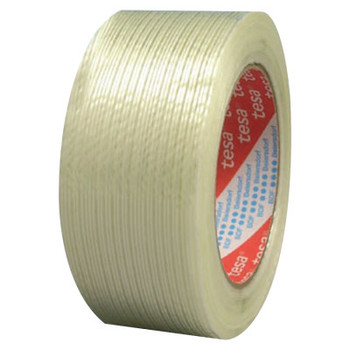 Tesa Tapes Performance Grade Filament Strapping Tape, 1 in x 60 yd, 155 lb/in Strength (1 ROL/BOX)