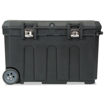 Stanley Products Mobile Chest, 23 in x 37 in x 23 in, 50 gal, Black (1 EA/BOX)
