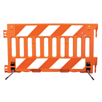 "TrafFix Devices, Inc. ADA Barricade Wall, Orange, 72""L x 38""H, No Sheeting (1 EA/BOX)"