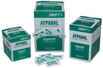 Honeywell Aypanal Non-Aspirin Pain Relievers, Acetaminophen/Aspirin/Salicylamide (1 BX/BOX)