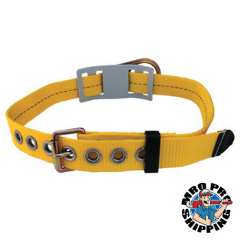 Capital Safety Tongue Buckle Body Belt, w/Floating D-ring, No Pad, Large (1 EA/EA)