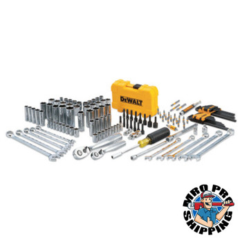 DeWalt Mechanics Tool Set, 142-Piece (1 EA/EA)