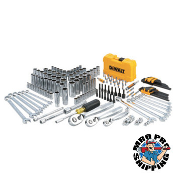 DeWalt Mechanics Tool Set, 168-Piece (1 EA/EA)