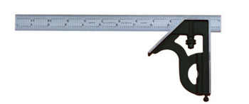 "L.S. Starrett 11H Series Combination Squares, 24"", 1/64 in @ 1 in; 16ths; Quick Read 64ths (1 EA/EA)"