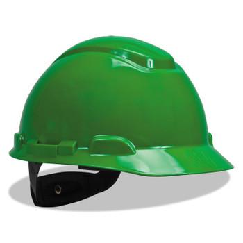 3M Ratchet Hard Hats, Ratchet, Cap, Green (20 CA/EA)