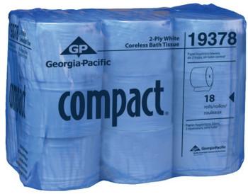 Georgia-Pacific Compact Coreless High Capacity Bathroom Tissue, 4.05 x 3.85, 506.25 ft (1 CA/EA)