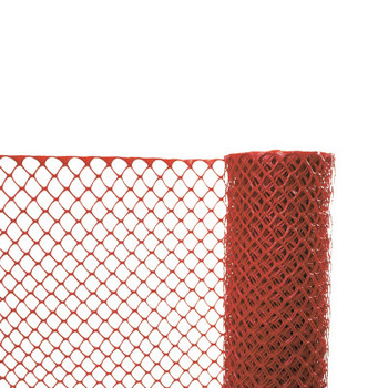 Cortina Safety Fences, 4 ft x 50 ft, Polyethylene, Orange (1 EA/EA)