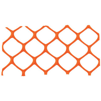 Cortina Mid-Grade Safety Fence, 4 ft x 50 ft, Polyethylene, Orange (1 EA/EA)
