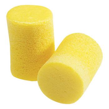 3M E-A-R Classic Foam Earplugs, Polyurethane, Yellow, Uncorded (500 CA/CTN)