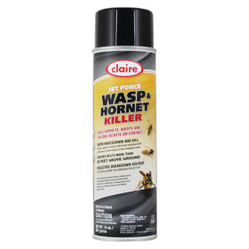 Aervoe Industries Jet Force Wasp and Hornet Killers, 20 oz Aerosol Can (12 CA/CTN)