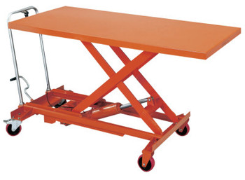 JPW Industries Jumbo Scissor Lift Tables, 73 1/2 in Long, 11 1/8-36 in High, 1100 lb Cap, Steel (1 EA/BX)