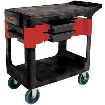 Newell Rubbermaid Trades Carts, 38 X 19 1/4 X 33 3/8h, Black (1 EA/DZ)