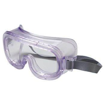 Honeywell Classic Goggles, Clear Frame, Clear Lens, Uvextreme Antifog, Face Foam (1 EA/EA)