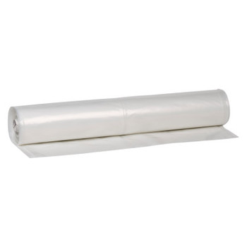 Warp Brothers Poly-Cover Plastic Sheets, 4 Mil, 4 x 200, Clear (1 ROL/EA)