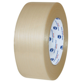 Intertape Polymer Group Polyester-Backed Premium Grade Filament Tape, 3/4 in x 60 yd, 333 lb/in Strength (48 CA/BIT)