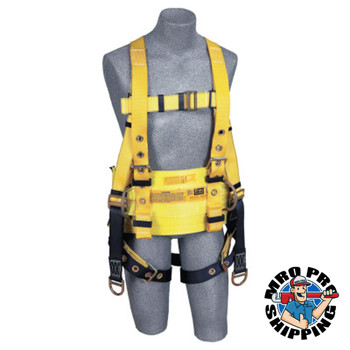 Capital Safety Derrick Belt, Work Pos D-rings, Pass Thru Bkle Conn to Harness, use w/1104803, S (1 EA/EA)