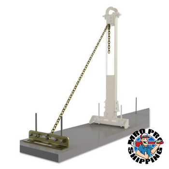 Capital Safety SecuraSpan Rebar/Shear Stud HLL Tie-Back Bases with Chains, Tie-Back Base (1 EA/PKG)