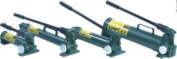 Simplex Heavy Duty Hand Pumps, Two-Speed, 45 cu in Useable Oil Cap. Max (1 EA/EA)