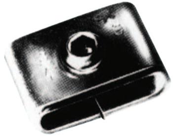 Strapbinder Screwbinder Buckles, 3/8 in, Stainless Steel 201 (50 BOX/EA)