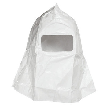 Honeywell Sperian Free Air Paint Spray Hood with Visor, Cotton Twill, White (1 EA/EA)