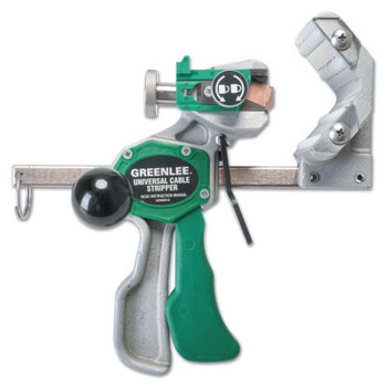 Greenlee Universal Cable Stripper Kits, 1/2 in - 3 in, EPR Blade, Steel/Green (1 KT/EA)