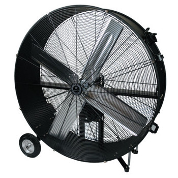 TPI Corp. Commercial Belt Drive Portable Blower, 4 Blades, 36 in, 11,000 rpm (1 EA/EA)