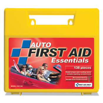 First Aid Only Auto First Aid Kits, Plastic, Portable (1 EA/EA)