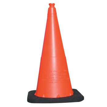 TrafFix Devices, Inc. Enviro Cones, 28 in, 7 lb, No Reflective Collar, LDPE, Orange (1 EA/EA)