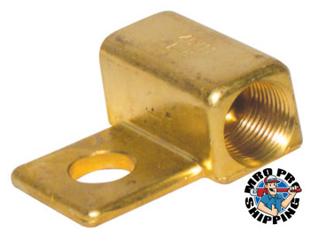 Best Welds Power Cable Adapters, 7/8 in - 14, Brass, LH (1 EA/EA)